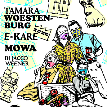 PXC / Mesh Print Day presents E-Kare, MoWa + Tamara Woestenburg, SEPT 2nd 2018