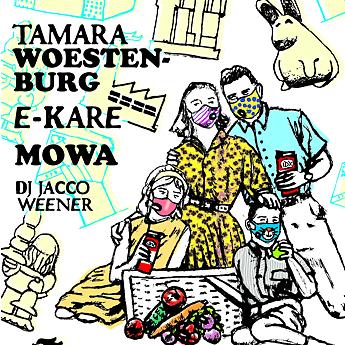PXC / Mesh Print Day presents E-Kare, MoWa + Tamara Woestenburg, SEPT 2nd 2018